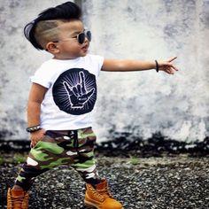 $9.07 (Buy here: https://alitems.com/g/1e8d114494ebda23ff8b16525dc3e8/?i=5&ulp=https%3A%2F%2Fwww.aliexpress.com%2Fitem%2FAutumn-autumn-kids-clothes-2-pieces-boys-set-Rock-n-Roll-Printed-Tshirt-T-shirt-Tops%2F32727251884.html ) 2016 Autumn kids clothes 2 p