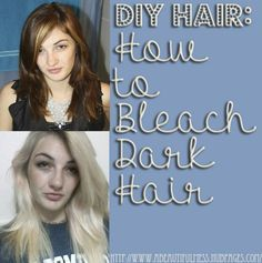 Here's a step-by-step guide to help you bleach it right the first time, and not damage your hair. It's a struggle, I know.