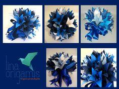 Lina Origami: Todo Azul do Mar