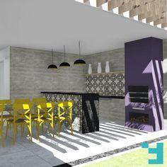 Projeto de Arquitetura Residencial - Casa J+L #Fors #Ideias #Arquitetura #issoéFORS