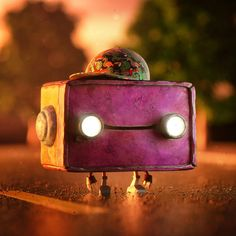 Bad Robot Kid - Link in my bio for prints  #digitalartworks #octane #cinema4d #instagram #3D #adobe  #cg #everyday #dailyrender #otoy #maxon #adobe #yorokobu #nace #pictoplasma #badrobot