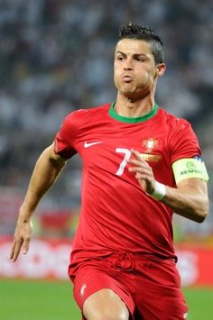 Cristiano Ronaldo - Match between Germany and Portugal during UEFA Euro 2012 that took place in Lviv.