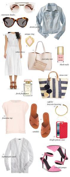 Spring Time Wardrobe Essentials…
