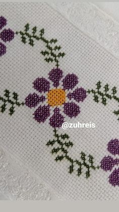 Filet Crochet, Cross Stitch, Lettering, Embroidery, Easy Cross Stitch, Cute Cross Stitch, Kids Beanies, Mothers Day Crafts, Hand Embroidery Flowers