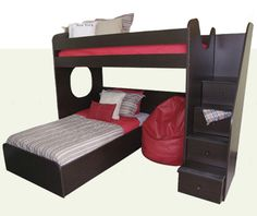 The Boys Bunk Beds - The Bunk House