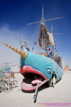 Some of the great art pieces from Burning Man. Getting excited for Flipside!