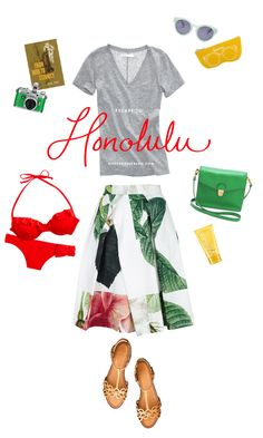 Honolulu Inspired Outfit #travel #Hawaii #vacation #outfit