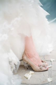 Wedding Shoes | On SMP: http://www.stylemepretty.com/2013/11/13/minnesota-wedding-from-emily-steffen-photography | Photo: Emily Steffen
