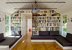 Amazing home library - Jessica Helgerson  Interior Design