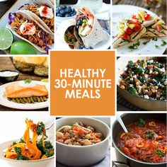There's nothing better than a meal that takes less than 30 minutes to prep and prepare. We all live such busy lives (in our own way) and sometimes we just need the food we consume to be convenient....