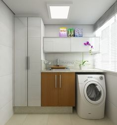 Optimize your small space & learn trick how to organize your dryer sheets, laundry room cabinet & other laundry room essentials Laundry Closet, Small Laundry, Laundry In Bathroom, Room Interior, Interior Design Living Room, Living Room Designs, Laundry Decor, Laundry Room Design, Small Room Bedroom