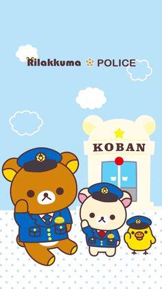 Kawaii Wallpaper, Cartoon Wallpaper, Iphone Wallpaper, Rilakkuma, Rilakuma Wallpapers, Phone 7, Sanrio Characters, Kawaii Drawings, Cute Bears