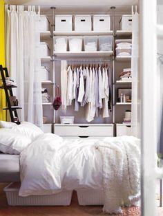 Caixas debaixo da cama