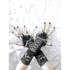 898ecece62d Společenské dámské černé rukavice 04802   Zboží prodejce Gothic Burlesque  shop