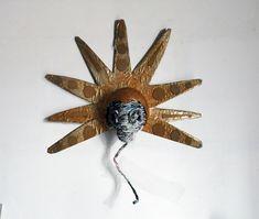 """""""Tête coiffée"""" sculpture Clélia Portal"""