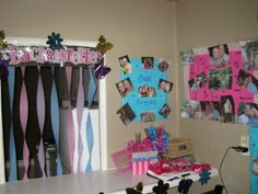 Love this idea for bachorlette party decorations