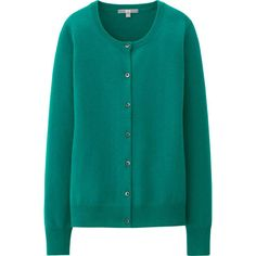 WOMEN CASHMERE CREW NECK CARDIGAN | UNIQLO