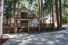 Perfect vacation home! 26515 Sugar Pine Drive, Pioneer, CA. 3BR, 3BA on nearly 1/2 acre. Bring the toys! 5 car garage, plus large recreation and guest accommodations. Offered at $369,000. Check out the virtual tour - http://www.tourbuzz.net/588523