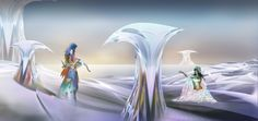 From the white worlds of Epsilon Digital Art, World, Painting, The World, Paintings, Draw, Drawings, Earth