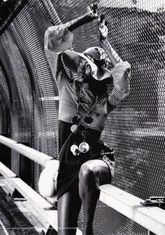 model Oluchi, photography by Marc Baptiste