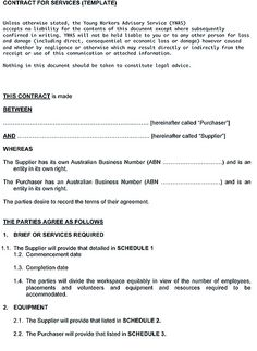 Service contract template is a written statement which is needed for two parties who have a professional relationship. The important contents of the contract have revealed here. Contract Agreement, Free Resume, Sample Resume, Templates, Writing, Words, Cleaning Services, Contents, Catering