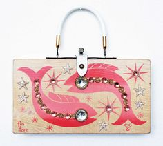 Enid Collins 1964 Fin Fare Box Bag by manifest108 on Etsy, $180.00