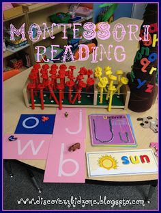 Montessori inspiried reading a step by step guide