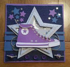 Made by; Corine. All stars schoen. Schudster.