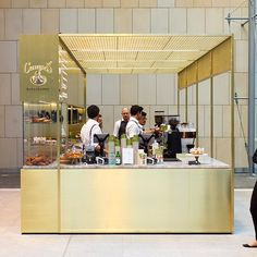 Kiosk Design, Cafe Design, Store Design, Cafe Restaurant, Restaurant Design, Opening A Cafe, Mall Kiosk, Cafe Counter, Glass Pavilion