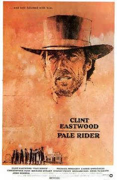 Pale Rider is a 1985 American western film produced and directed by Clint Eastwood, who also stars in the lead role. The title is a reference to the Four Horsemen of the Apocalypse, as the rider of a pale horse is Death.