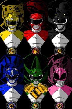 Original Power Rangers, Power Rangers Series, Power Rangers In Space, Go Go Power Rangers, Power Rangers Morphin, Power Rangers Pictures, Power Ragers, Power Ranger Birthday, All Superheroes