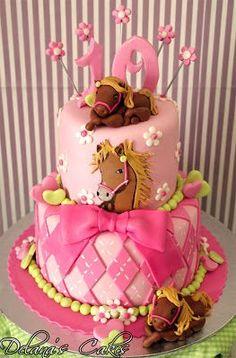 Gâteau cheval / Horse Cake