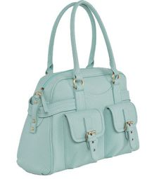 """Missy Mint - Jo Totes - Camera bags for women This is one adorable camera bag. Padded inside with a tablet sleeve and 2 exterior pockets.  Size: 16"""" x 11 1/2"""" x 6 1/4"""""""