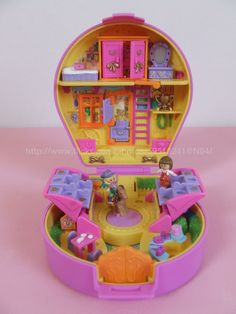 Polly Pocket Pony Ridin' Show 1994 90s Toys, Retro Toys, Childhood Toys, Childhood Memories, Polly Pocket World, Mcdonalds Toys, Pound Puppies, Chip Bags, All Things Cute