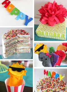 Puppet Birthday Party