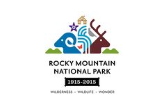 Rocky Mountain National Park Centennial Logo on RISD Portfolios