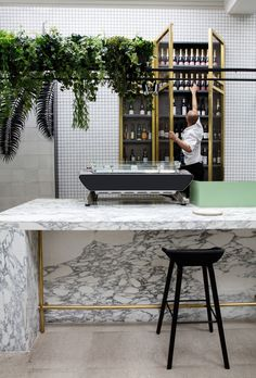 Redroaster Cafe in London, UK by The Stella Collective | Yellowtrace