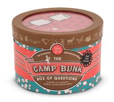 The Box Girls Camp Bunk Box of Questions   good for girl scouts!