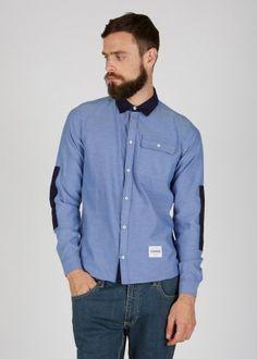 Choker blue Shirt