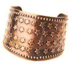 Copper Star Cuff Cowboys Daughter | JEWELRY