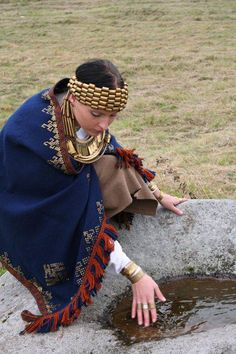 11th Century reproduction Latvian outfit