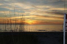 Sunset at Ft. De Soto, Florida