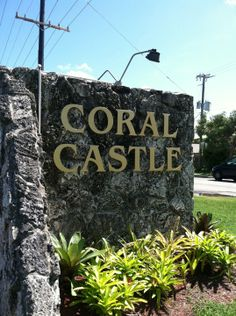 In a town called Homestead just off of the South Dixie Highway near Miami is structure that has been world famous for years called The Coral Castle. Florida City, South Florida, Homestead Florida, Coral Castle, Magic City, World Famous, Homesteading, The Good Place, Things To Do