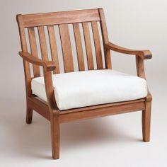 WorldMarket.com: Natural Occasional Chair Slipcover