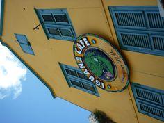 Our buddy, Jeff's restaurant - AWESOME!!!   Curacao                                                                 facebook.com/officeless                                             officeless.com