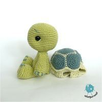 Free Turtle crochet pattern... link for the pattern: www.ravelry.com/...