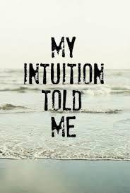 Afbeeldingsresultaat voor intuitie quotes