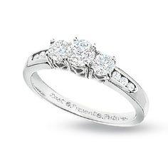 18k Rose Gold Tacori 2565md Ribbon Diamond Engagement Ring