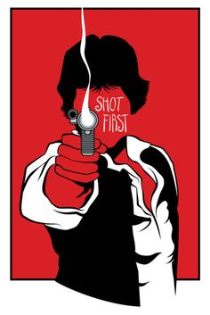 Everyone says Han shot first, but it's incorrect. Only Han shot!! greedo cdnt shoot Bc he was dead from GeTtiNg shot. Duh. *end nerd rant*