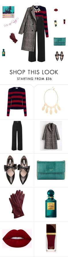 """Mix and match"" by mariagraziatrotta ❤ liked on Polyvore featuring RED Valentino, Natasha, Veronica Beard, Lanvin, Mark & Graham, Tom Ford and Tory Burch"